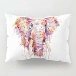 Elephant Head Pillow Sham