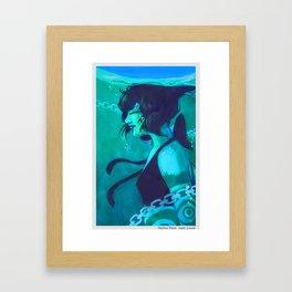 Lazuli Framed Art Print