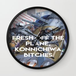KONNICHIWA! Wall Clock