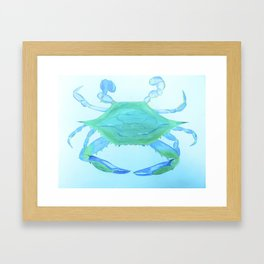 Chesapeake Blue Crab Framed Art Print
