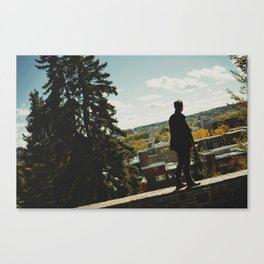 Almost Downtown Canvas Print