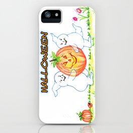 pumpkin thief iPhone Case