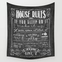 House Rules Retro Chalkboard by lebensart