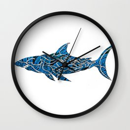 shark do do II Wall Clock