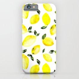 Lemons iPhone Case