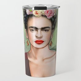 Frida con Amigos Travel Mug