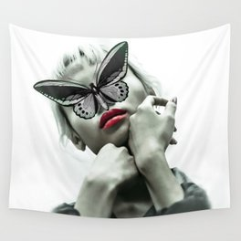 The Madame Butterfly Wall Tapestry