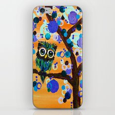 :: Sunset Gemmy Owl :: iPhone & iPod Skin