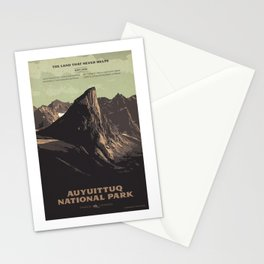Auyuittuq National Park Stationery Cards
