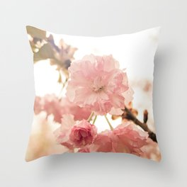 Spring Blossoms (2) Throw Pillow