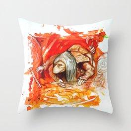 DARK CRYSTAL - UR-RU Throw Pillow