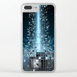 Disco explosion Clear iPhone Case