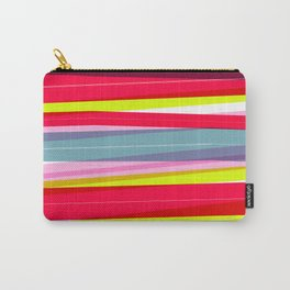 Rainbow Stripe 01 Carry-All Pouch