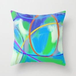 celestial equator #5 Throw Pillow