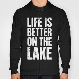 Life Is Better On The Lake | Bass Fishing Hoody