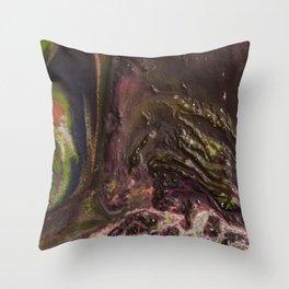 Unknown Terrain 2 Throw Pillow