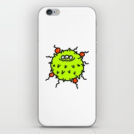 Green Bacteria iPhone Skin
