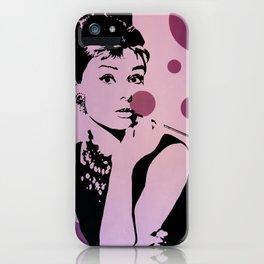 Hepburn #1 iPhone Case