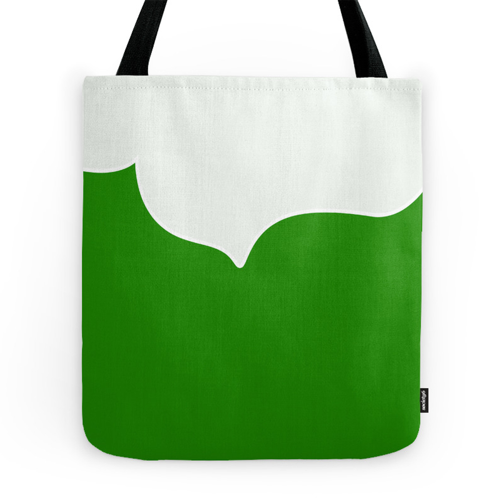 Abstract - Green. Tote Purse by kerenshiker (TBG7569280) photo