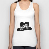 danisnotonfire Tank Tops featuring AmazingPhil &Danisnotonfire by xzwillingex