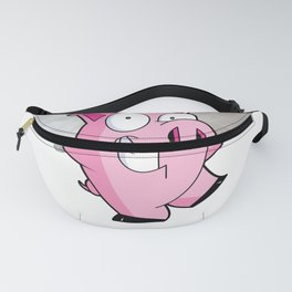 Pig Flying Pig The Tie is Now When Pigs Fly Fanny Pack