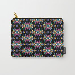 ethnic psychedelic Carry-All Pouch