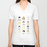 quotes V-neck T-shirts featuring Boogie Quotes by Derek Eads