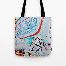 Billboard (Rock-a-Hoola) Tote Bag