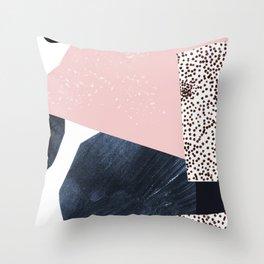 Mind The Dots! Throw Pillow