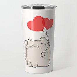 Eli, the love cat Travel Mug