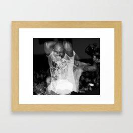 Burn, Chaka. Framed Art Print