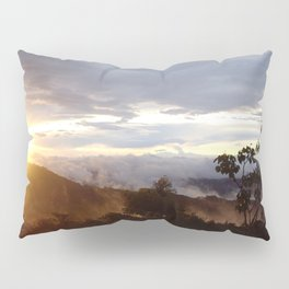 Sunset over the jungle in Costa RIca Pillow Sham