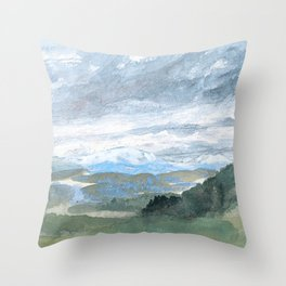 Landscapes in my mind Throw Pillow