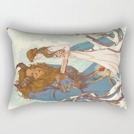 Something there Rectangular Pillow