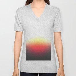 Sunset Ombre Unisex V-Neck