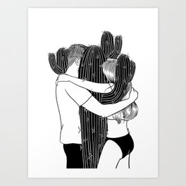 Love Hurts Art Print