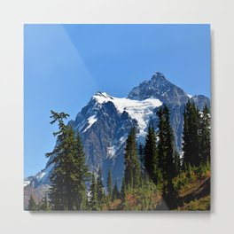 Mount Shuksan Close View Metal Print