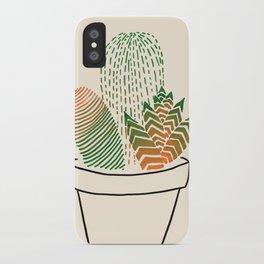 Succulent Study iPhone Case