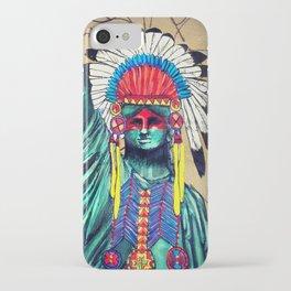 Lady LieBerty iPhone Case