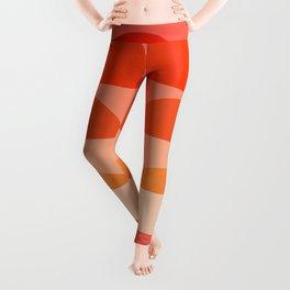 Abstraction_SUNRISE_Minimalism_ART_001 Leggings