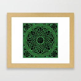 The Irish Knot Framed Art Print