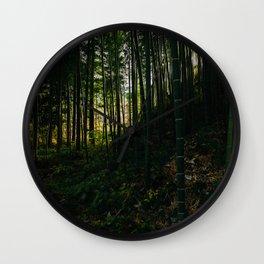 Kiso Valley Shadows Wall Clock