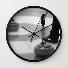 Skip In The House Wall Clock