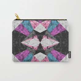 Marble Geometric Background G438 Carry-All Pouch