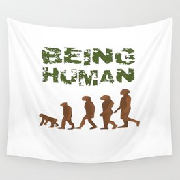 Being Human - Devolution Wall Tapestry