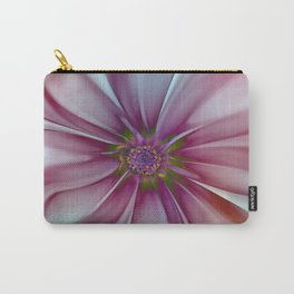Soft Fractal Flower 2 Carry-All Pouch