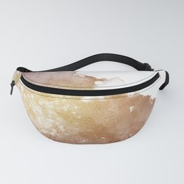 Gold Evening Cloud Fanny Pack