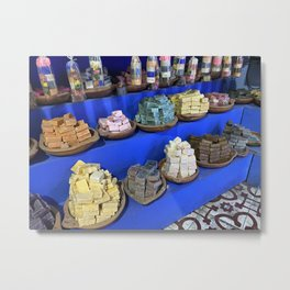Perfumes of Chefchaouen - Morocco  Metal Print