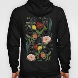 Botanical and Black Cats Hoody
