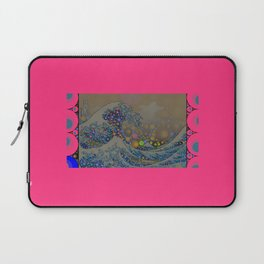 Trippy Great Wave Laptop Sleeve